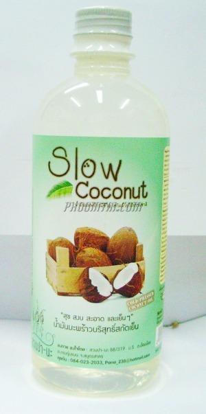 น้ำมันมะพร้าวสกัดเย็น สวนปานะ (500 ml)